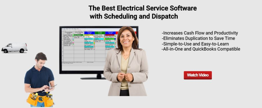 Electrical dispatch scheduling software