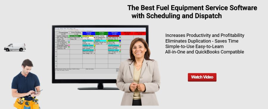 Gas Station Equipment Service Software