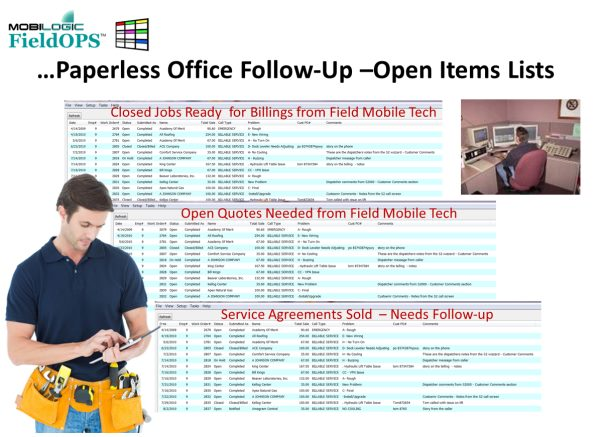 Dispatch Scheduling Service Mobile Software