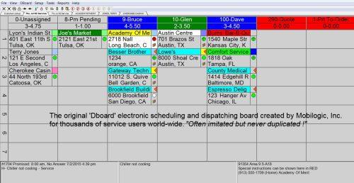 scheduling calendar