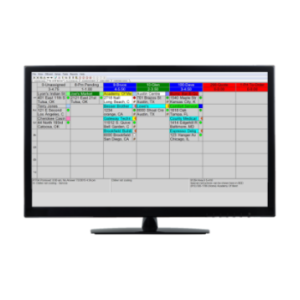 field service scheduling software board