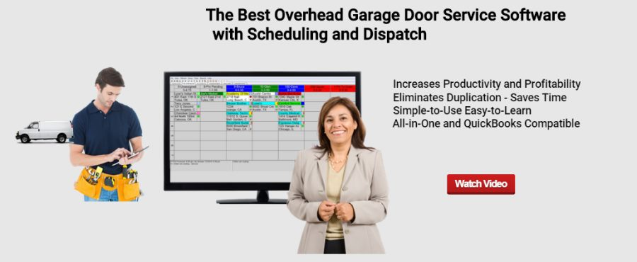 overhead garage door software