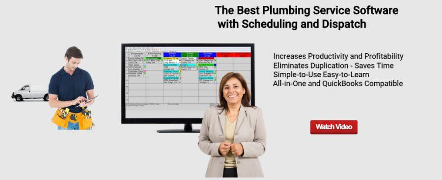 Plumbing service software